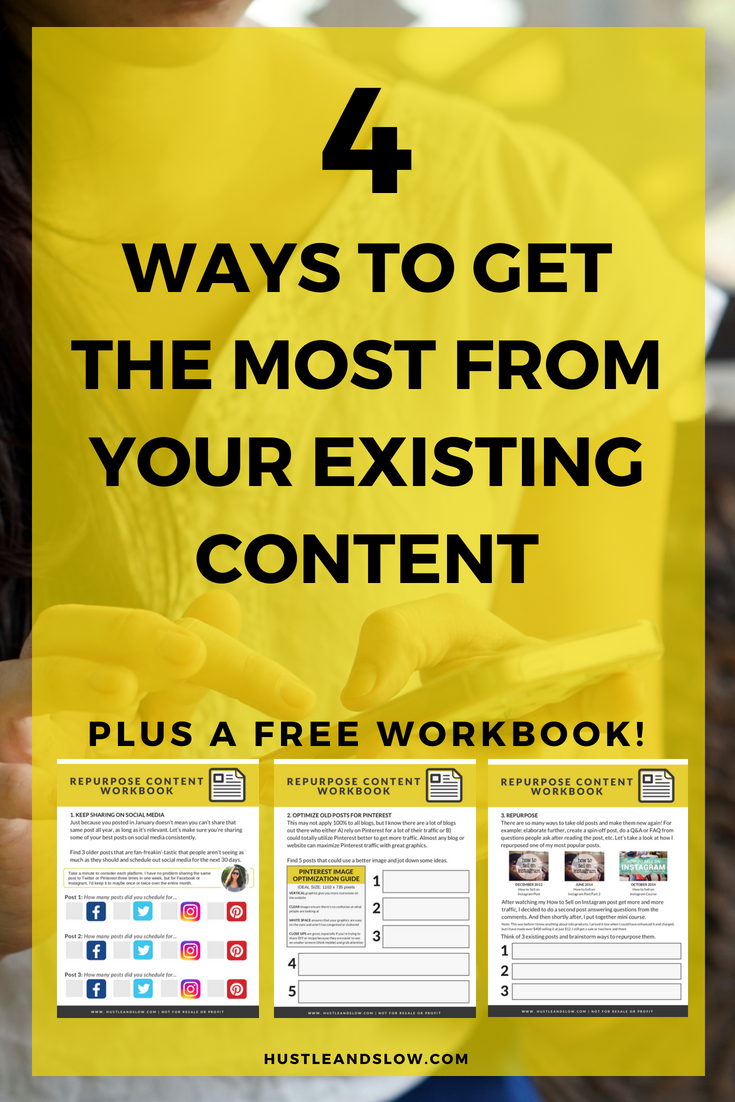 get the most from your existing blog posts and content