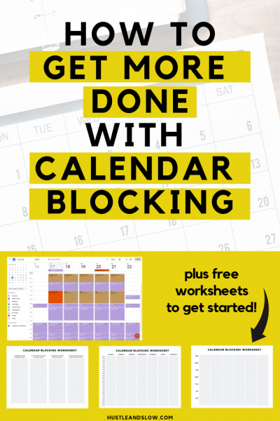 How to get more done with Calendar Blocking
