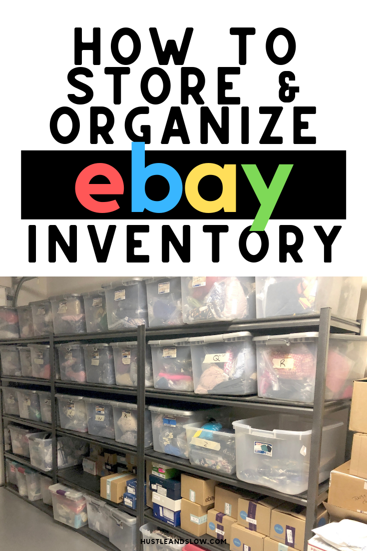 Ebay Inventory Storage and Organization –  Our Ebay Inventory System
