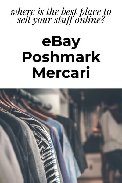 Which is better? eBay vs Poshmark vs Mercari