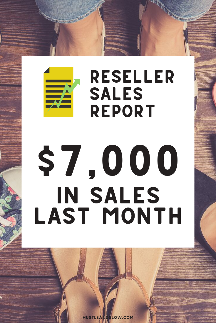 Income Report: $7,012 Reselling Online