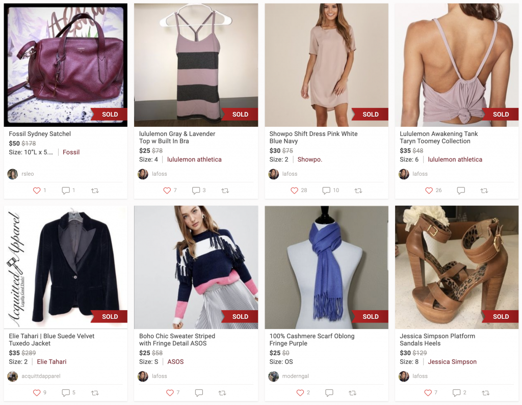 How to sell on poshmark for beginners what sold