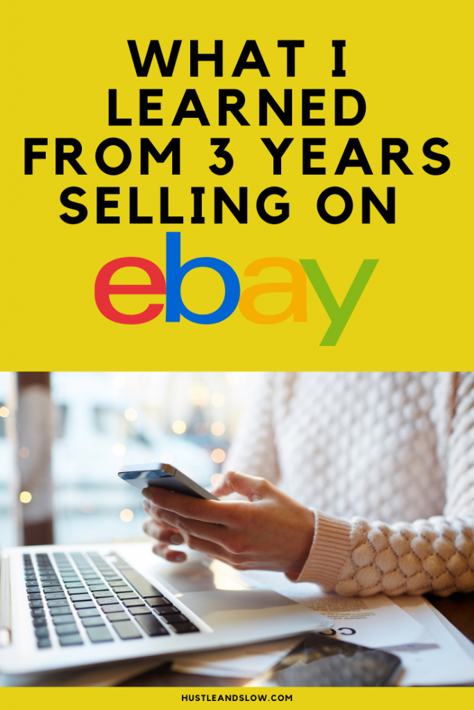 What I Learned from 3 year selling on ebay