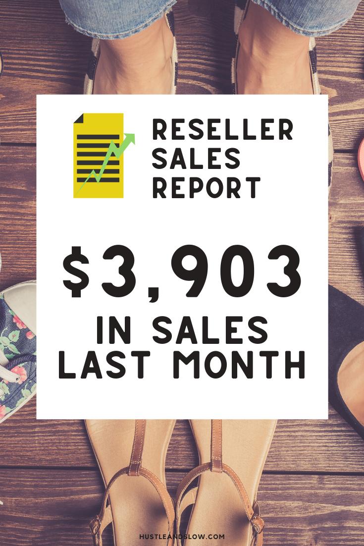 Reseller Income Report December 2019