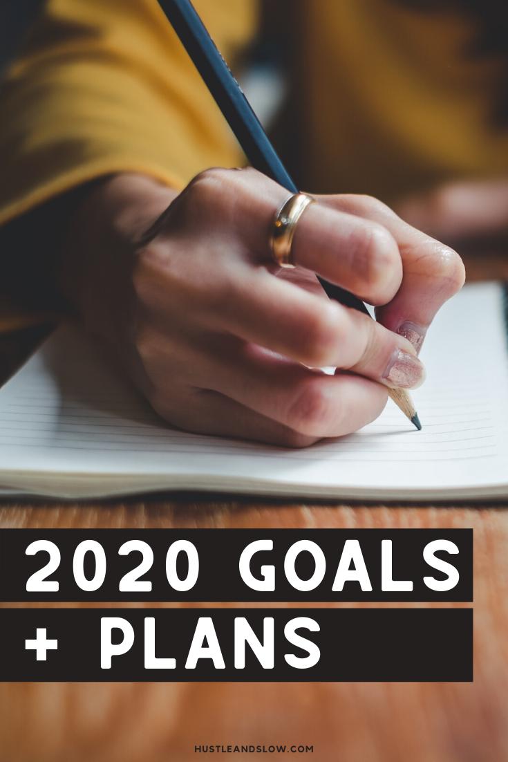 2020 Goals & Plans