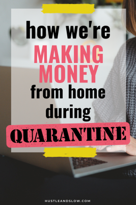 make money from home during lockdown quarantine