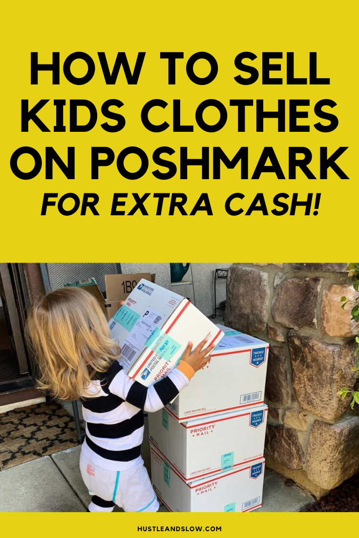 How to sell kids clothes on Poshmark for extra cash