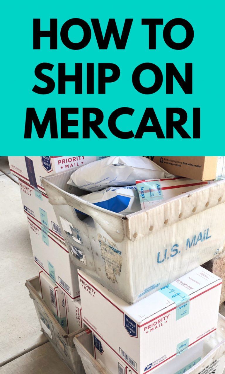 Mercari: How to Ship and Shipping Prices