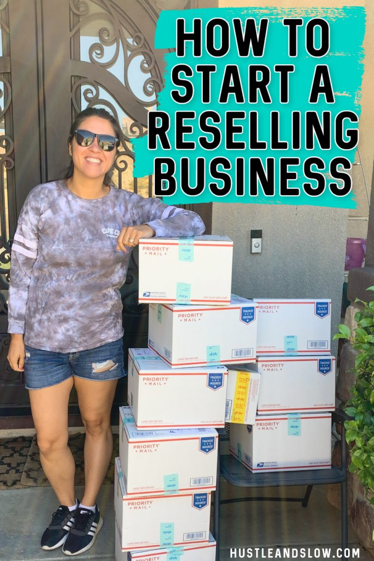 How to Start a Reselling Business (tips for success)