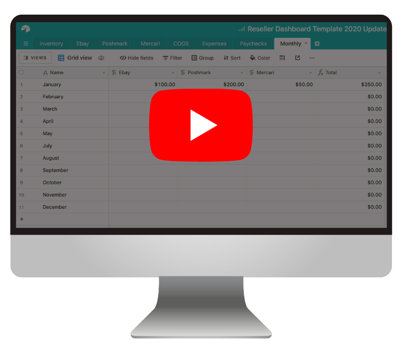 reseller dashboard video training