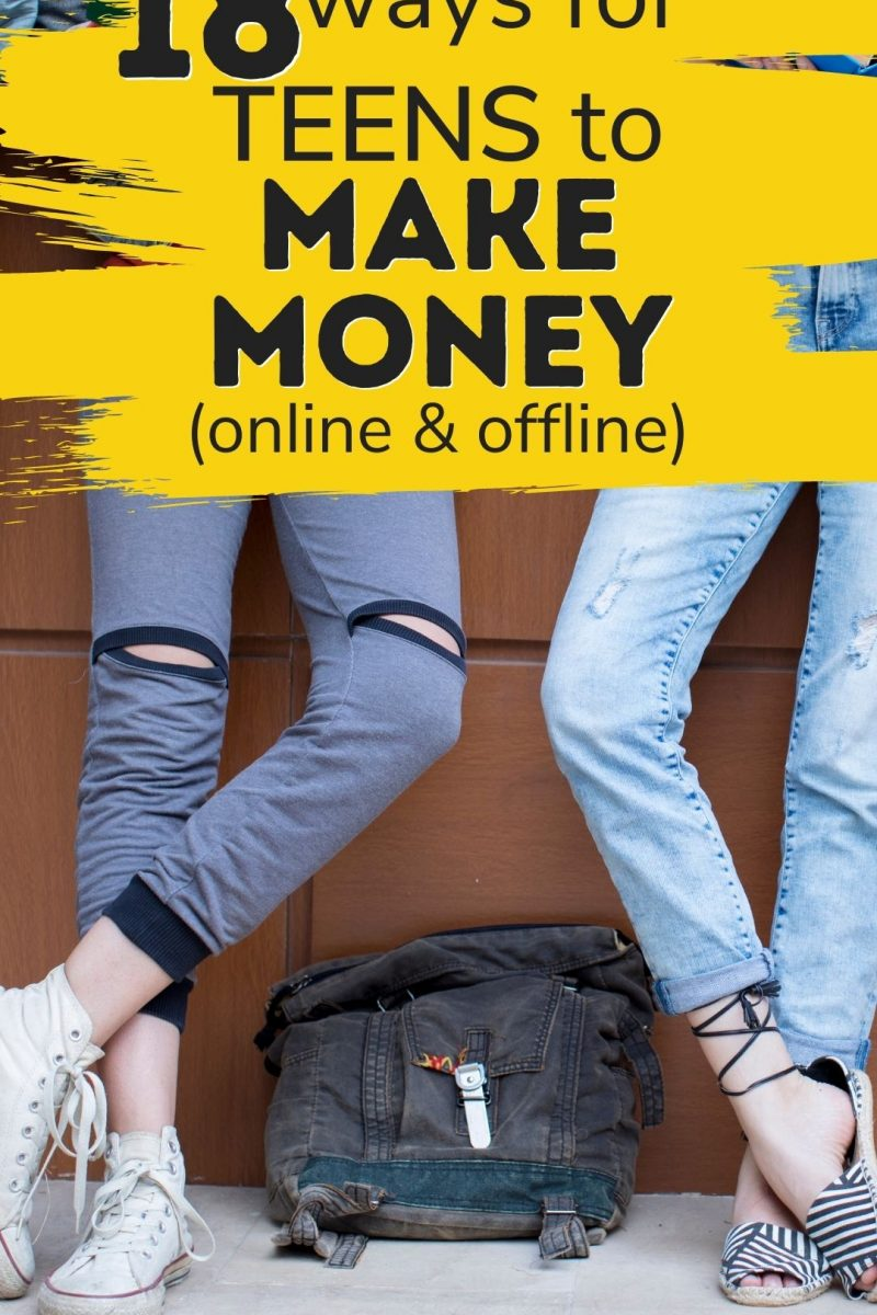 18 Ways for Teens to Make Money: Starting a Side Hustle in 2021