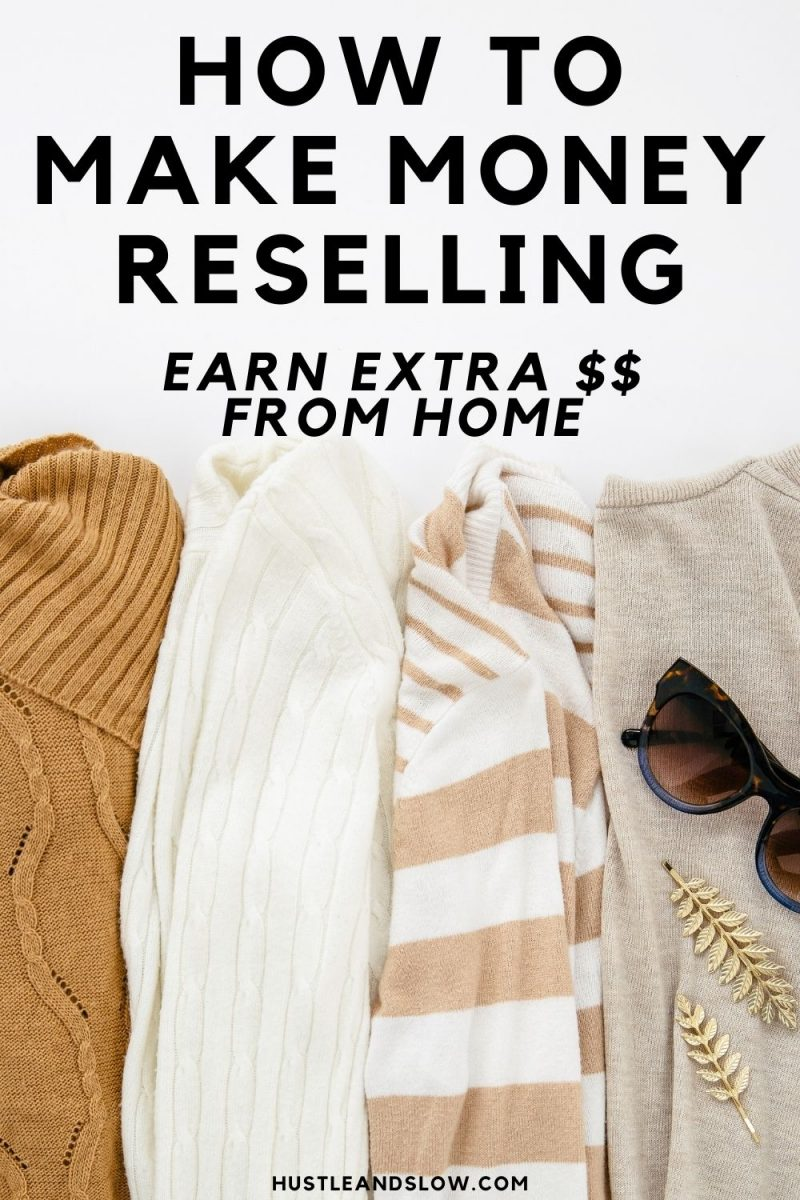 How to Make Money Reselling Items Online